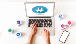 Cómo usar hashtags en tus redes sociales websynet agencia barcelona